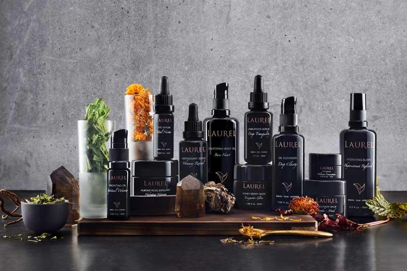 Laurel Organic Skincare product range
