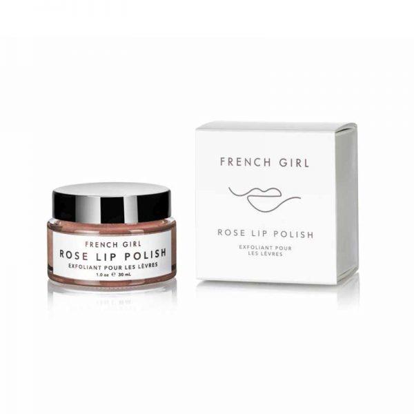 FRENCH GIRL Rose Lip Polish box