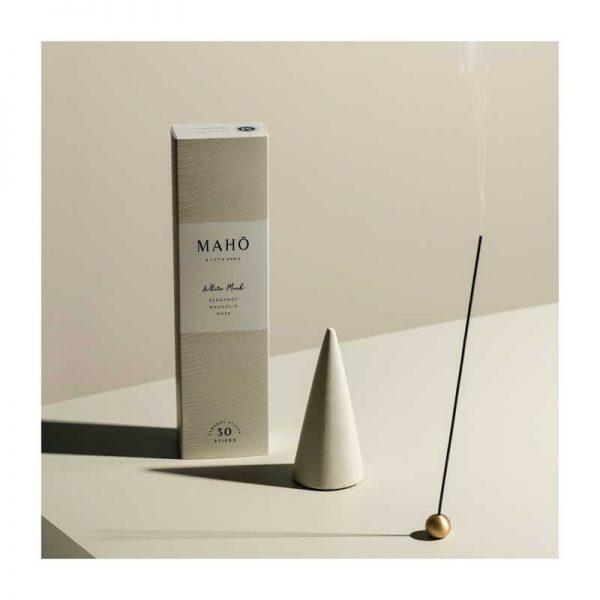 MAHŌ White Musk luxury incense Sticks