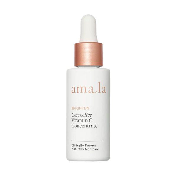 amala brighten corrective vitamin c concentrate, certified natural skincare