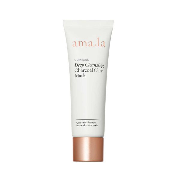 amala clinical deep cleansing charcoal clay mask