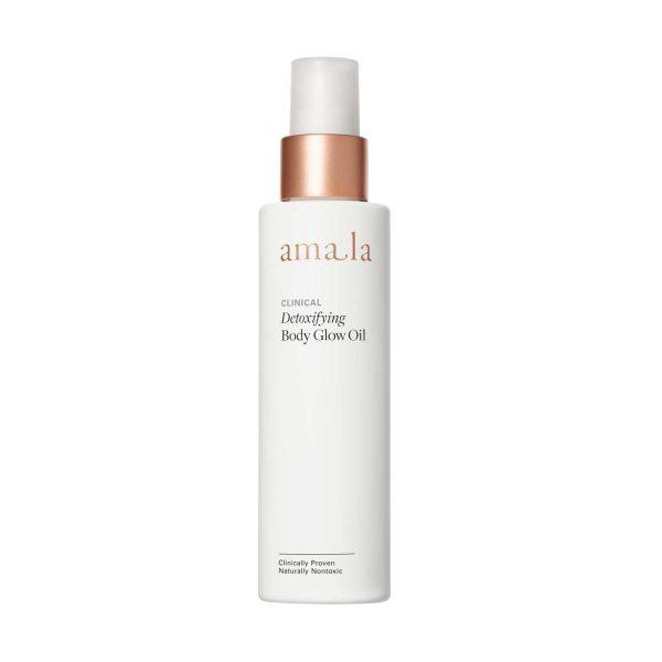 amala clinical detoxifying body glow oil