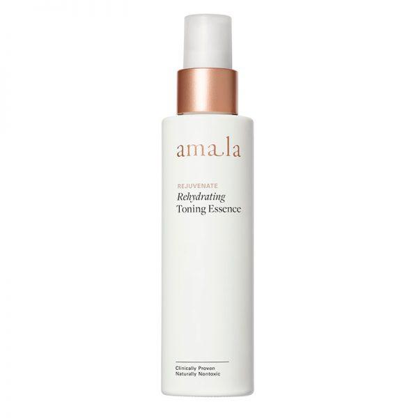 Amala rejuvenate rehydrating toning essence, certified natural facial toner