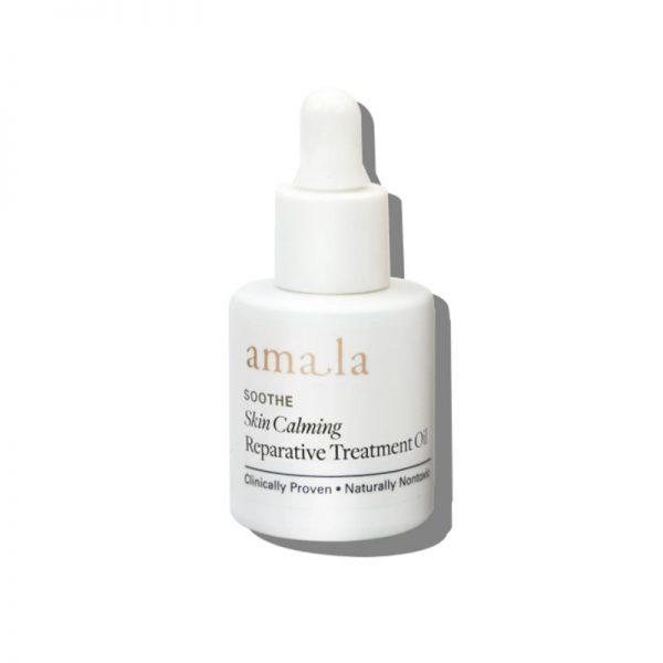 amala skin calming reparative treatment oil mini