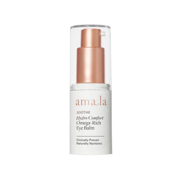 amala soothe hydro comfort omega rich certified natural eye balm for dry and sensitive skin