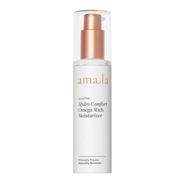 amala soothe hydro comfort omega-rich natural facial mosituriser