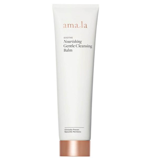 amala soothe nourishing gentle cleansing balm, certified natural facial cleanser