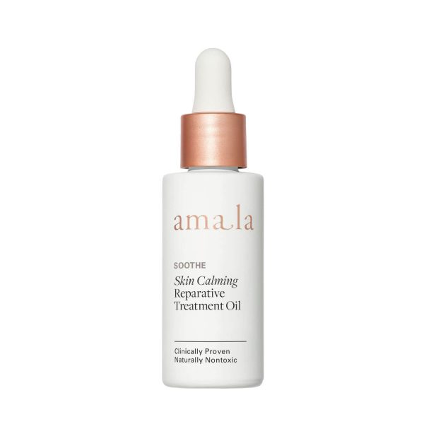 amala soothe skin calming reparative treatment oil for dry and sensitive skin