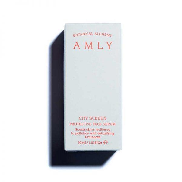 AMLY City Screen Protective Face Serum box