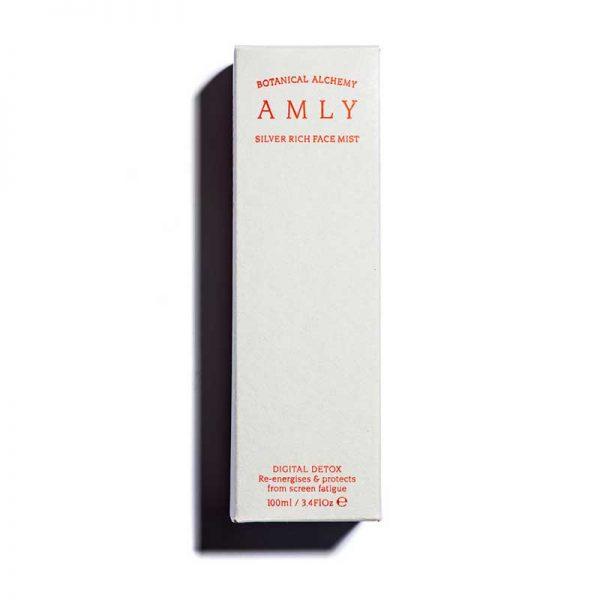 amly silver rich face mist digital detox box