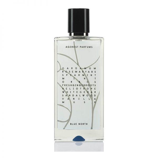 agonist natural fragrance blue north perfume spray