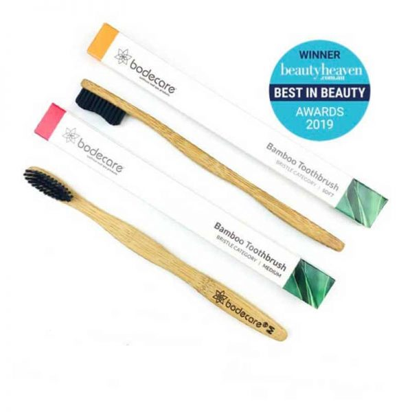 BODECARE Bamboo Eco-friendly Toothbrush award