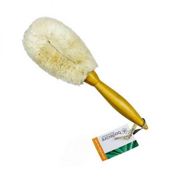 bobodecare jute dry body brush