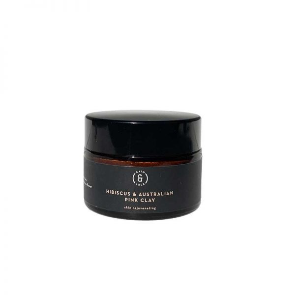 caim able pink clay hibiscus exfoliating beauty mask