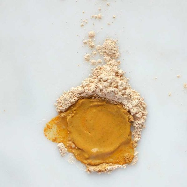 caim able Yellow Clay and Turmeric Purifying Mask texture