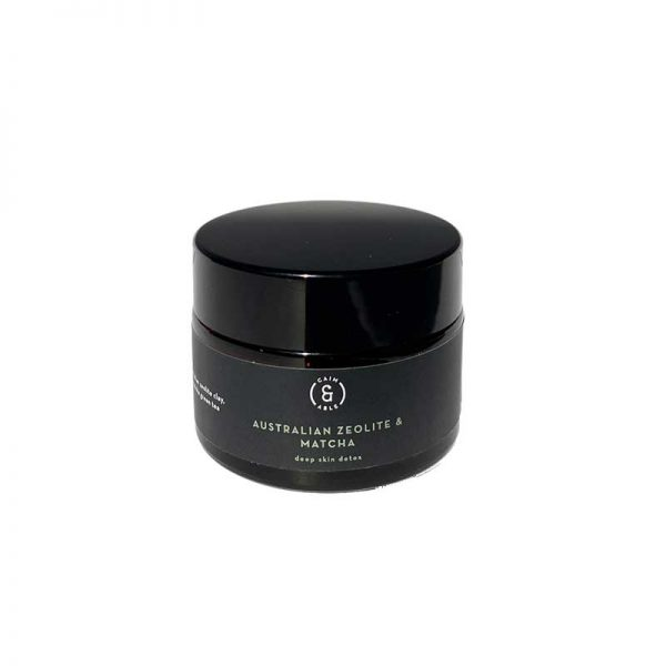 caim and able Zeolite and Green Matcha Detox Mask