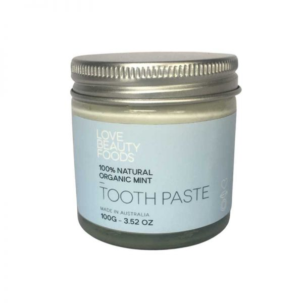 LOVE BEAUTY FOODS Organic Mint Toothpaste