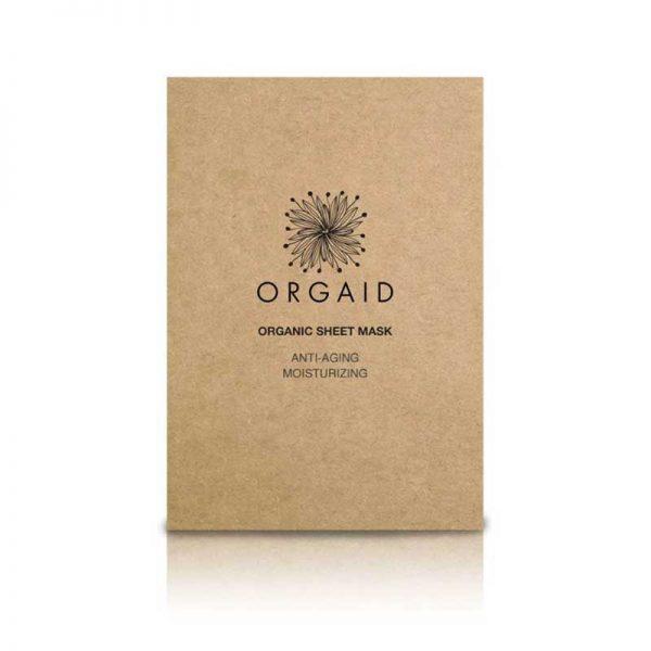 ORGAID Anti-Aging and Moisturising Organic Sheet Mask