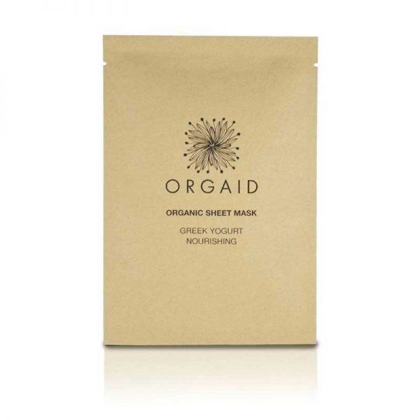 ORGAID Greek Yoghurt and Nourishing Organic Sheet Mask