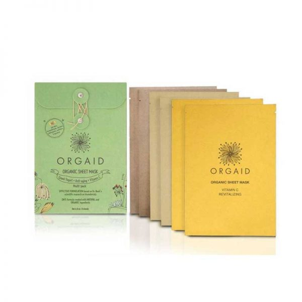 ORGAID Organic Sheet Mask Multi-Pack