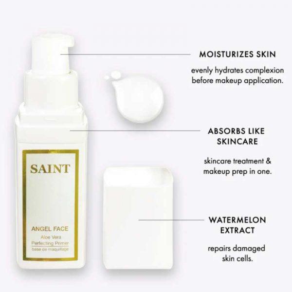 SAINT Aloe Vera Skin Perfecting Primer details