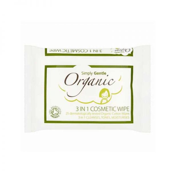 simply gente organic cosmetic facial wipes