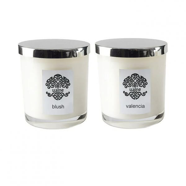 uaine candles complementary set