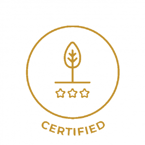 Product certified natural or organic with recognised organisations, including: ECOCERT, NATRUE, COSMOS