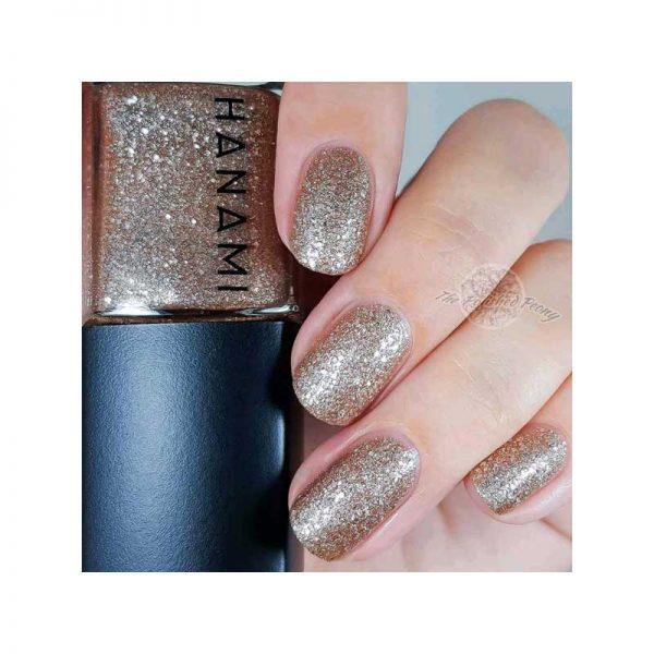 hanami cosmetics nail polish dancing on my own manicure
