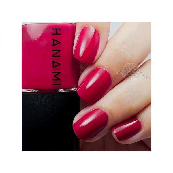 hanami cosmetics nail polish cherry oh baby manicure