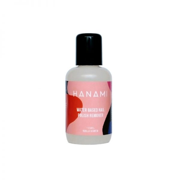 hanami water based nail polish remover
