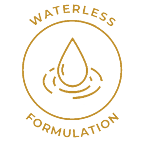 Innovative formulations to exclude or replace water in products that traditionally have high water content.