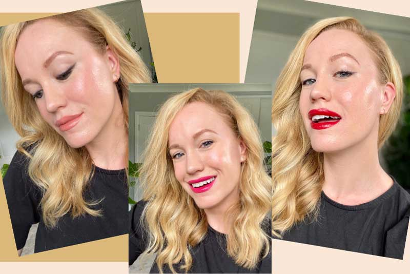 Ash Quinn Makeup artist takes your look from natural to glam in 3 simple steps