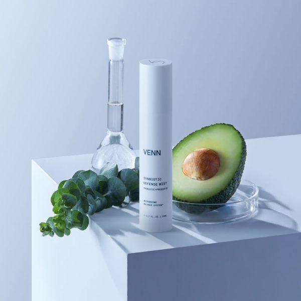 venn synbiotic defense mist proiotic and prebiotic natural ingredients