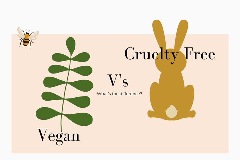 vegan beauty versus cruelty free