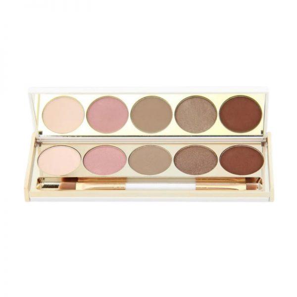 saint cosmetics eye shadow palette blessed in burgundy