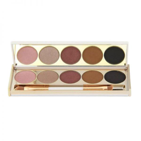 saint cosmetics eyeshadow palette dusk til dawn