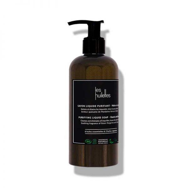 les huilettes purifying liquid soap