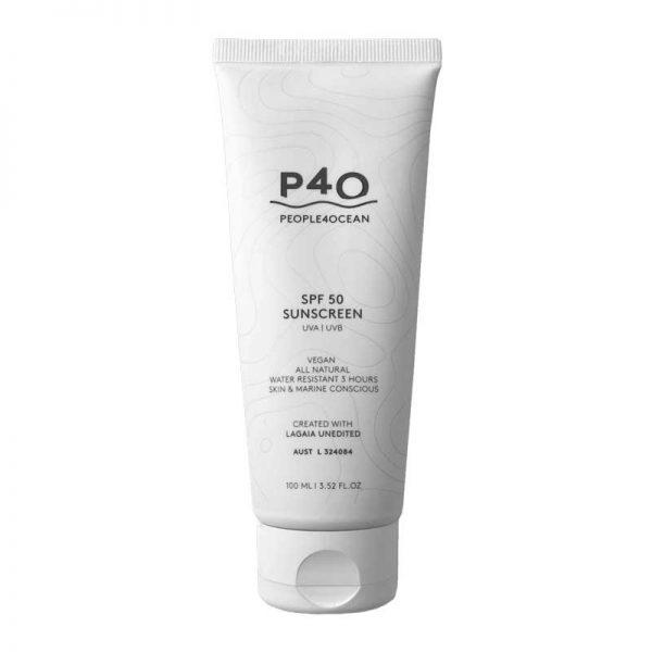PEOPLE4OCEAN Natural Vegan Sunscreen SPF 50