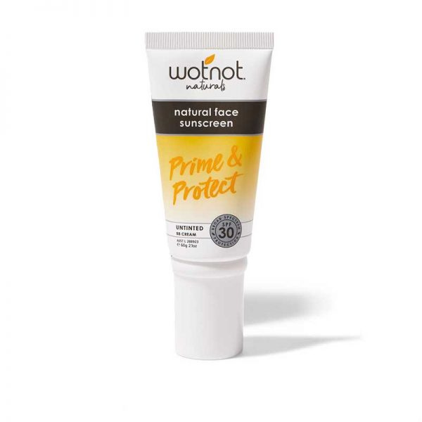 wotnot natural SPF 30 prime and protect