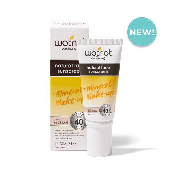 Wotnot_Natural_Light_sunscreen_Face_40SPF_light_tinted_BB_Cream_60g