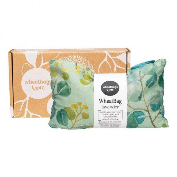 wheatbag love heartgumlavender scent box